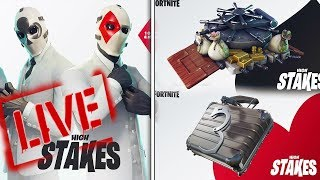 NEW Fortnite Wildcard Skin and High Stakes Gameplay