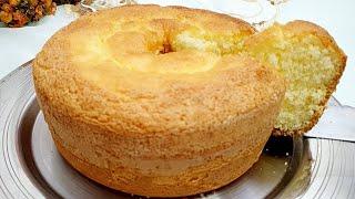 Esse Bolo de Amido de Milho é Perfeito para o seu Café