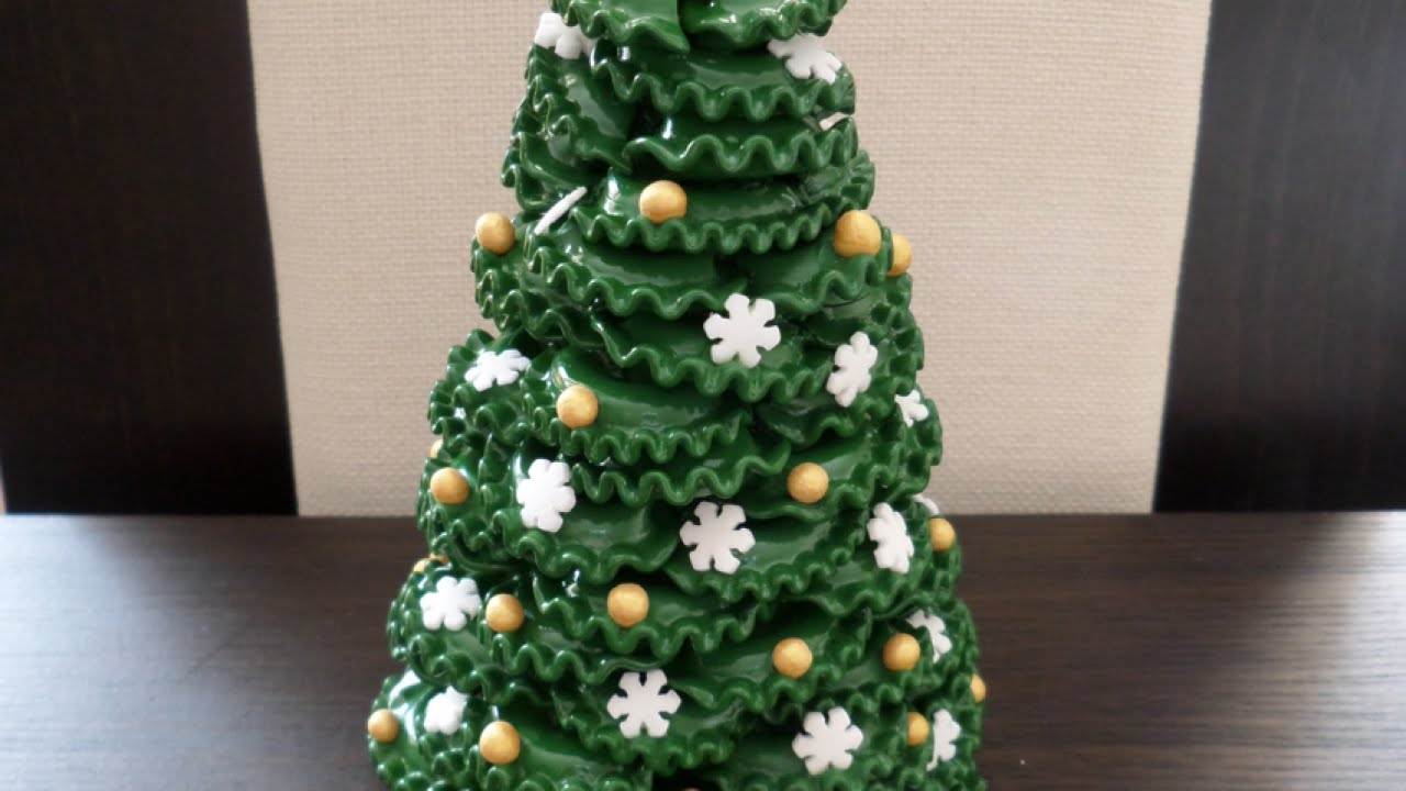 make a lovely pasta christmas tree diy home guidecentral youtube