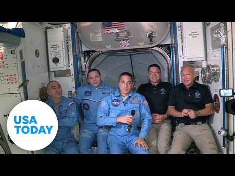 USA Today speaks with astronauts on ISS