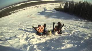 Малиновка. Malinovka ski. 2014(, 2014-03-12T20:24:50.000Z)