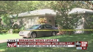 Police: Teen ambushed St. Petersburg officers with gunfire