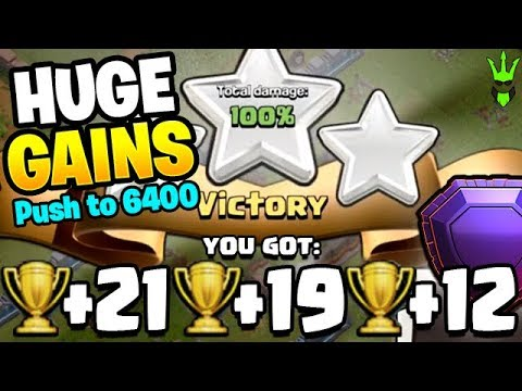 FINDING SOME NICE OFFERS NEAR 6000 TROPHIES! - Clash Of Clans