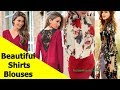 50 Beautiful Shirt and Blouse Designs For Women S29