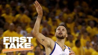Is Steph Curry Showboating? | First Take | June 6, 2017