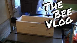 Diy Hive, 5-frame Medium Nucs - Bee Vlog #121 - Nov 23, 2013