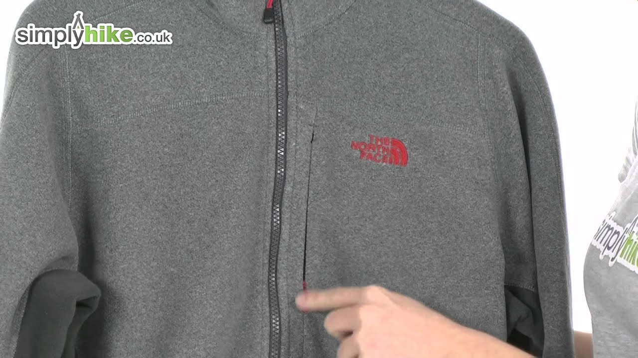 4e5da21642 The North Face Mens TKA 200 Echo Full Zip Fleece - www.simplyhike.co ...