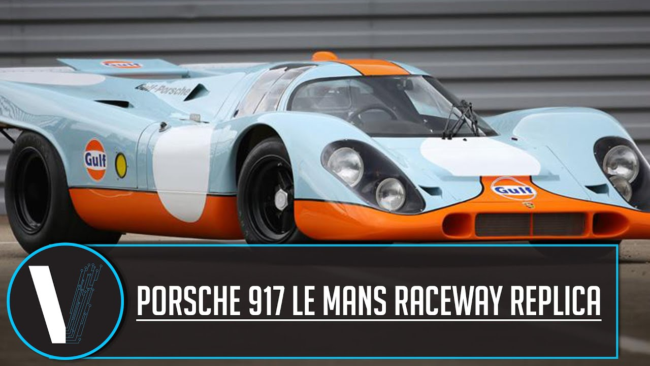 Porsche 917 Le Mans Raceway Replica review - YouTube