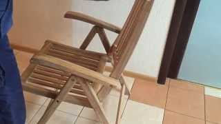 Кресло из тика Veronica складное(, 2015-04-06T11:34:46.000Z)