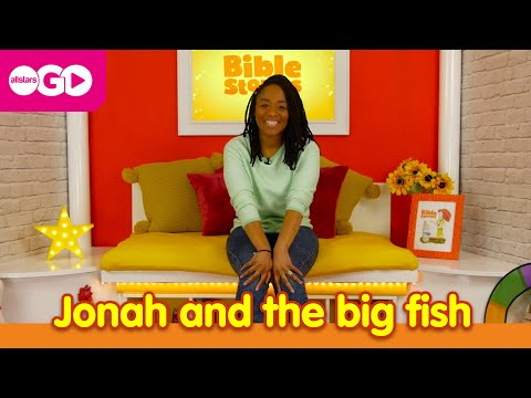 Bible Stories   Jonah And The Big Fish   S01 E01 - Bible Stories For Kids!