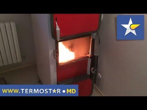 Твердотопливный котел длительного горения Heiztechnik Q Hit Plus