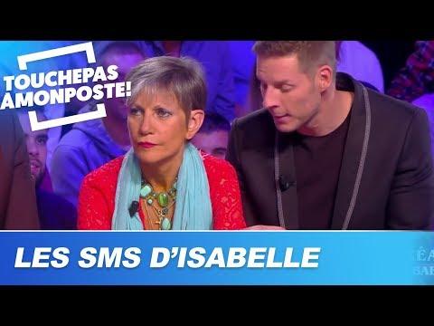 Les SMS de Matthieu Delormeau envoyés du téléphone d'Isabelle Morini-Bosc