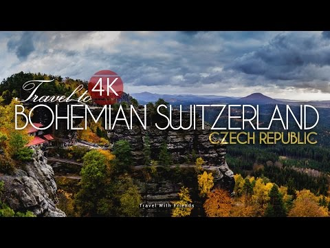 Travel to Bohemian Switzerland, Czech Republic in 4K