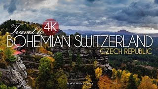 Travel to Bohemian Switzerland, Czech Republic in 4K