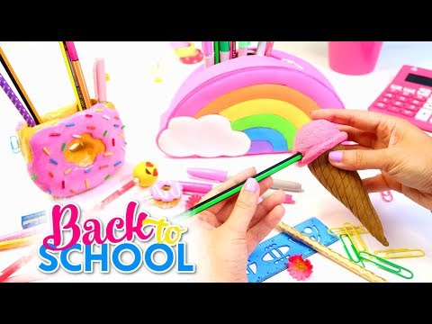 DIY School Supplies for Back to School 2017! Isa's World
