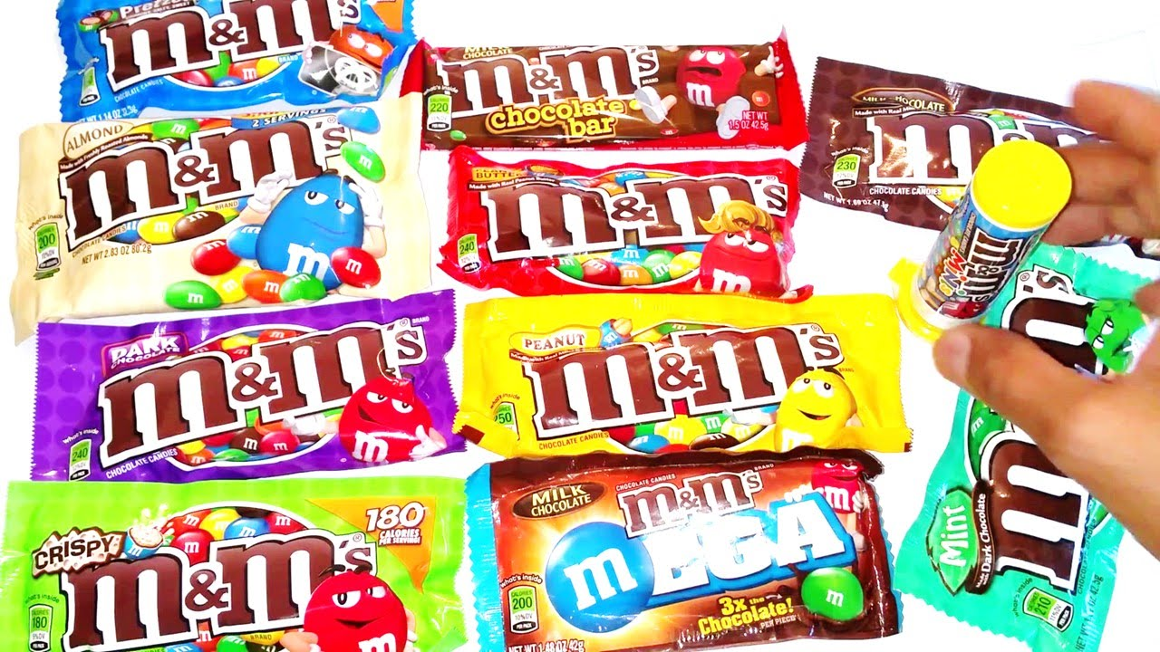 M M Candies Pictures: A Lot Of Candy By M&M's Countdown Review