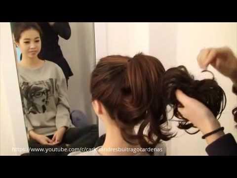 Como Hacer Un Peinado Japones Peluqueria Youtube