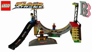 LEGO Island Xtreme Stunts 6738 Skateboard Challenge - Unboxing and Review 2002