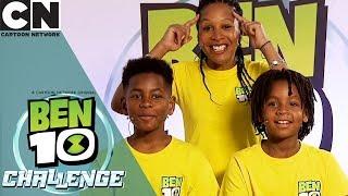 Ben 10 Challenge | A Sneak Peek | Cartoon Network