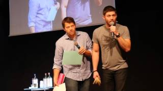 Funny JIBCon Moments 2015 (Jensen and Misha)
