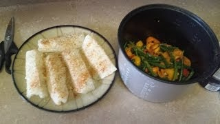 Bodybuilding Meal: Amazing Fish and Veggies