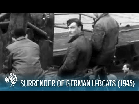 Surrender Of German U-Boats: World War II (1945) | British Pathé