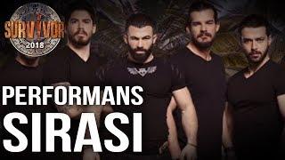 Survivor 2018 | 22. Hafta Erkekler Performans Sıralaması | 108. Bölüm | Survivor 2018