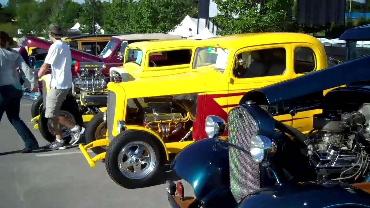 Bangor Car Show Wheels on the Waterfront Bangor, Maine - YouTube