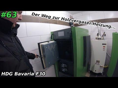 Holzvergaser | Meine neue Heizung | Heizen mit Holz | HDG F30 ...