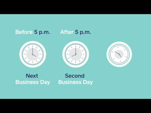 Next Business Day Deposit
