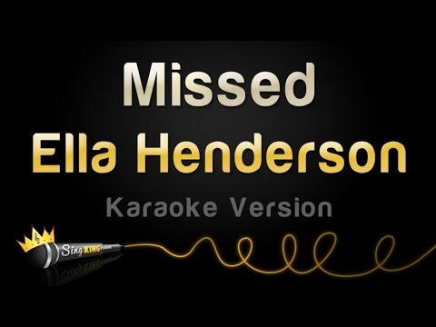 Ella Henderson - Missed (Karaoke Version)