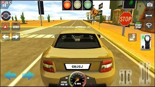 """Learning School Driving Simulator Game """"Desert"""" Car Parking Driver Simulation Android Gameplay #3"""