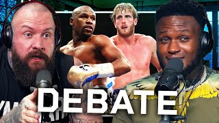 The Logan Paul vs Floyd Mayweather DEBATE