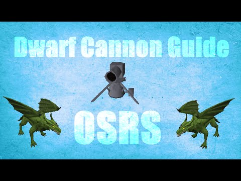 full dwarf cannon guide 2007 accuracy boost and tricks oldschool