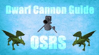 Full Dwarf Cannon Guide 2007 Accuracy Boost And Tricks Oldschool runescape (OSRS)