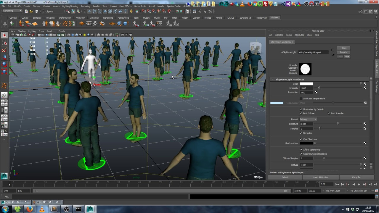 Golaem - Population Tools For Maya | Golaem