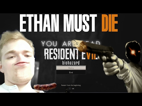 """""""RAGE AND TEARS!"""" Resident Evil 7: Biohazard - Banned Footage Vol. 1 Ethan Must Die"""