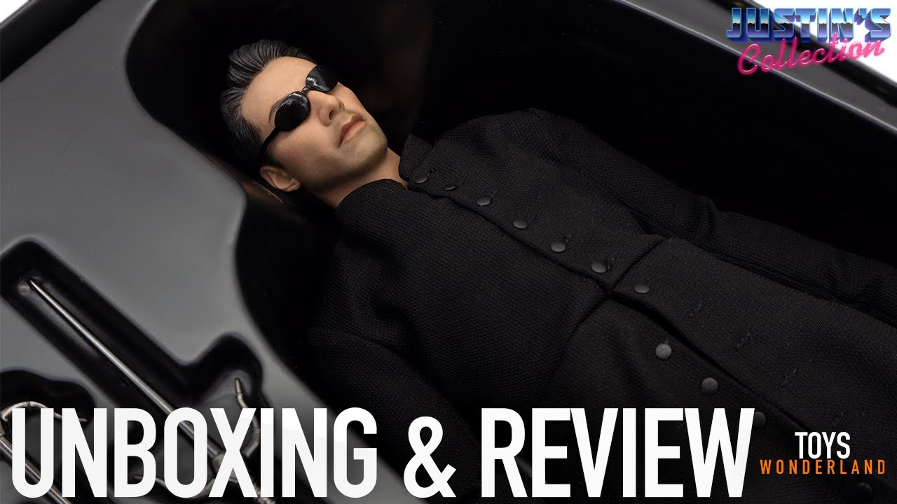 Neo Matrix 2 1/6 Scale Figure Toys Works Messiah Unboxing & Review