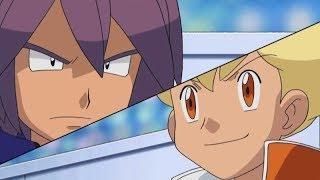 1 Pokemon DP Galactic battles - Ligi Savaşı - Paul vs Barry parçası