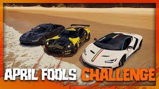 Forza Horizon 3   April Fools Challenge! (Close Finish & Funny Moments)