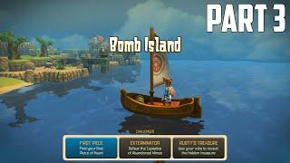Oceanhorn: Monster of Uncharted Seas - 100% Walkthrough Part 3 [PS4] – Bomb Island