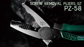 Screw Removal Pliers GT (PZ-58) (English)