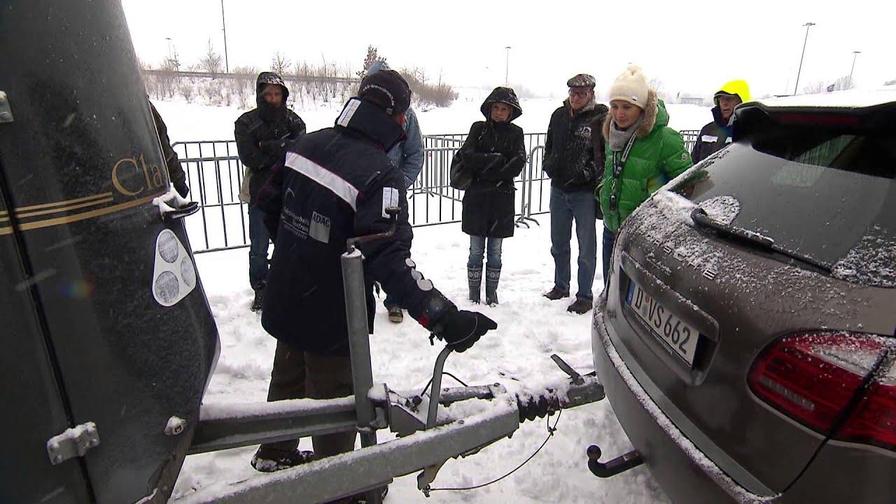 Caravan Trailer - Tutorial 1: Hänger Ankuppeln - Drive University ...