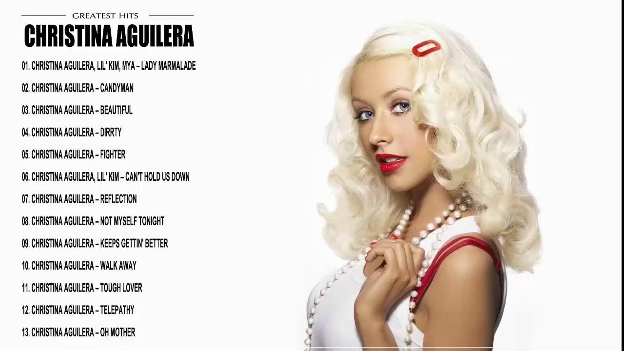 Christina aguilera greatest hits-8726