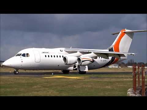 ✈ Close Up Jota Aviation Avro RJ 85 G-JOTR Departure From London Southend Airport