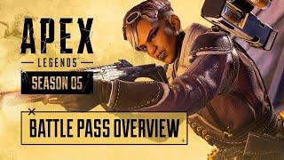 Apex Legends Season 5 - Fortune's Favor Battle Pass Trailer (2020)