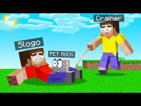 This MINECRAFT Rock Is My PET? (so Aggressive)