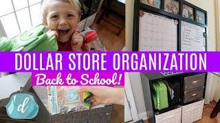 Dollar Store Organization & Haul