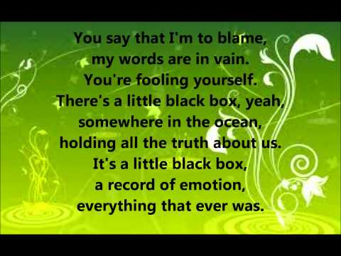 Little Black Box by Stan Walker (lyrics)