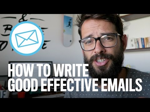 How To Write Good Effective Emails